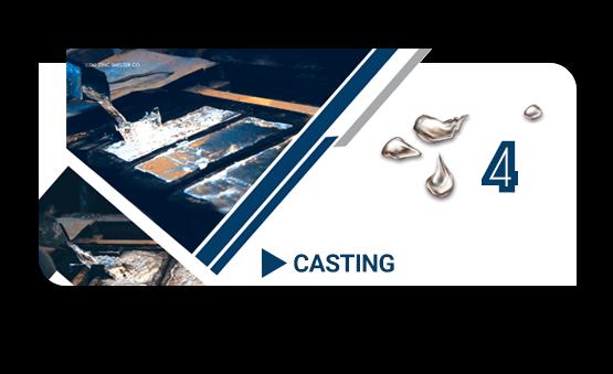 casting tal zinc
